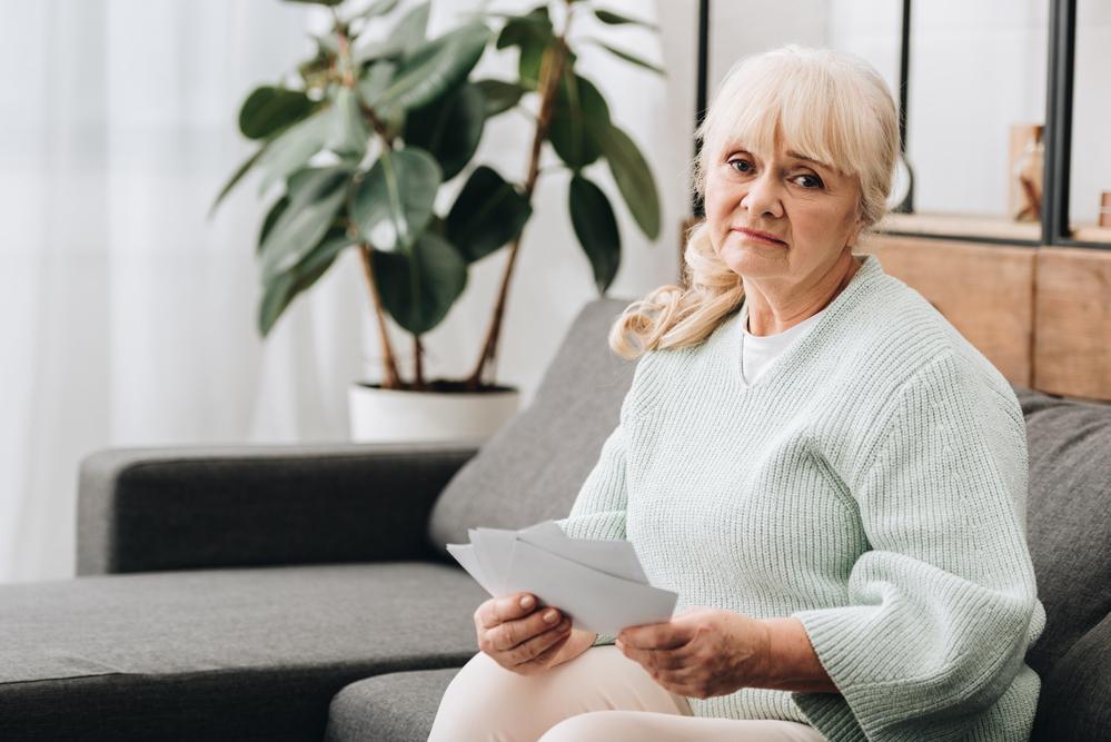 Женщина с альцгеймером