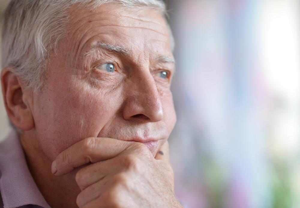 Пожилой человек фото