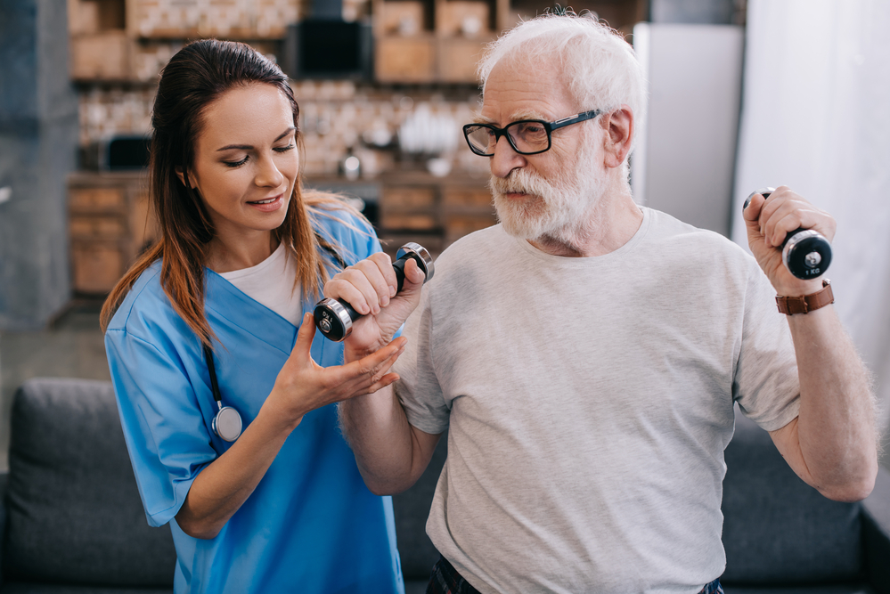 лечебная физкультура с Альцгеймером